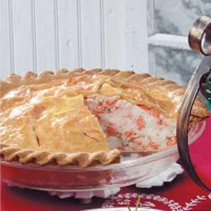My Nana Todd's Salmon Pie.